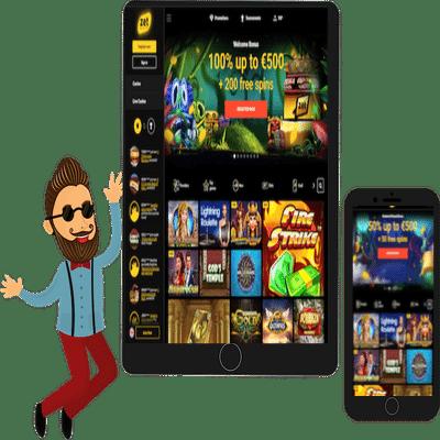zet casino mobile