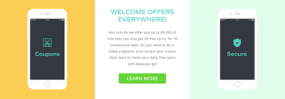 casinomax welcome offers