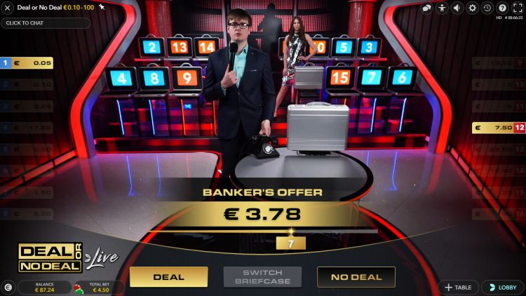 Deal or no deal live review bank offer