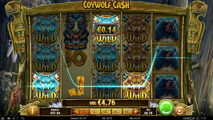 Coywolf Cash play'n Go slot