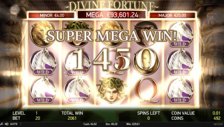 Divine-fortune-Netent-mega-win