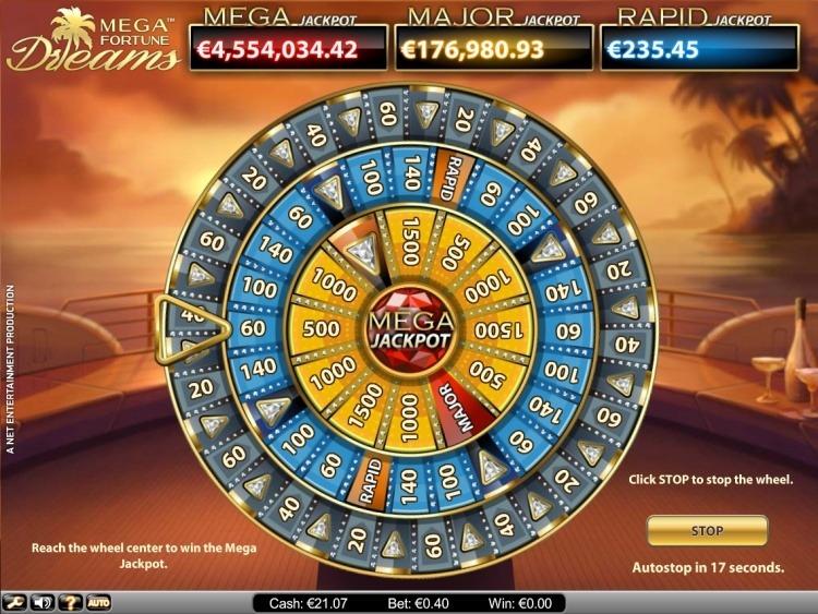 Mega-Fortune-Dreams-Progressive Jackpot gewinnen