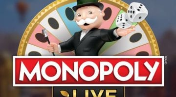 Monopoly Live logo evolution gaming