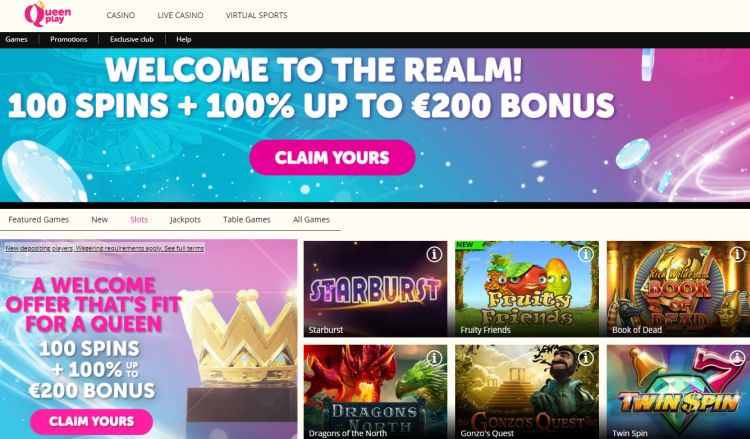 Queen Play Casino review
