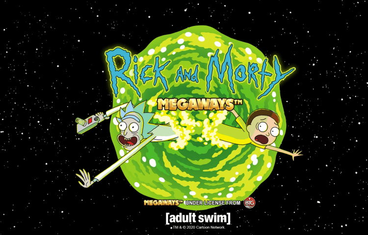 Ricky-and-Morty-Megaways-slot-logo