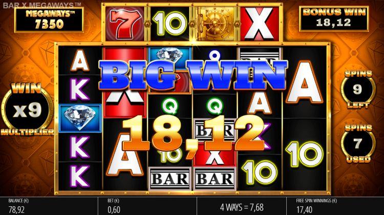 bar x megaways slot review bonus win