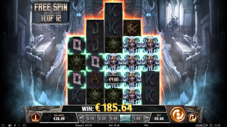 testament slot play n go review mega win