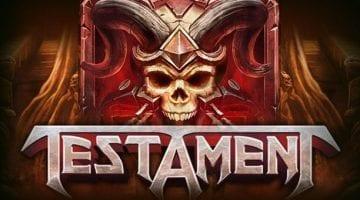 testament-slot-playngo logo