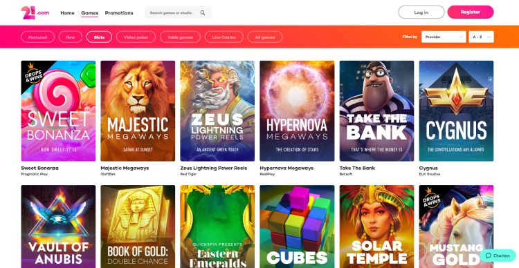 21.com casino review casinohipster games