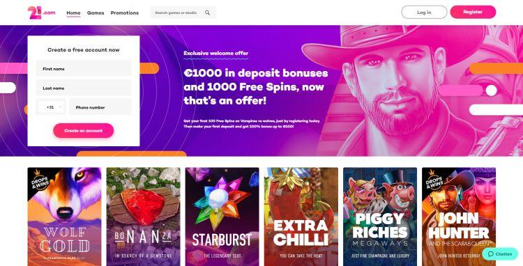 21.com casino erfahrung casinohipster