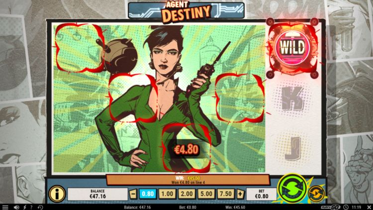 Agent destiny slot review super big win