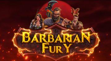 Barbarian-Fury slot no limit city logo