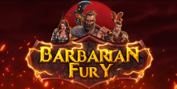 Barbarian-Fury slot no limit city logo