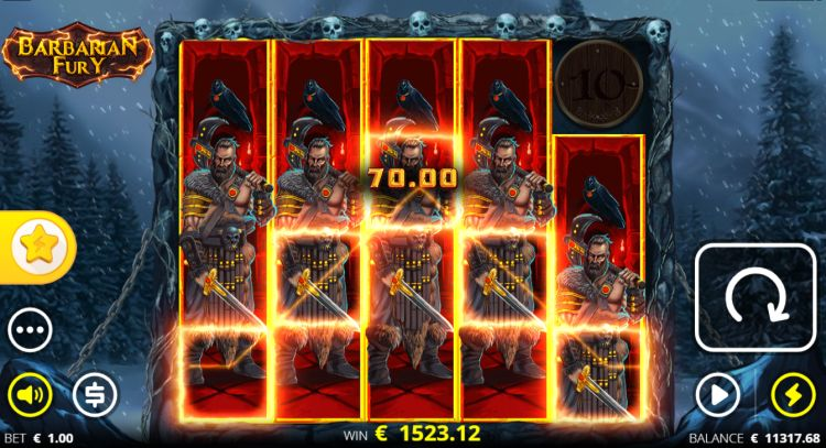 Barbarian-Fury slot review mega win