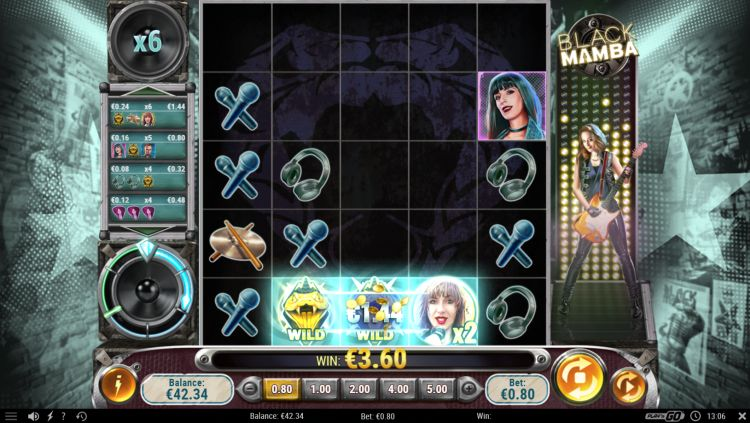 Black mamba play n go slot