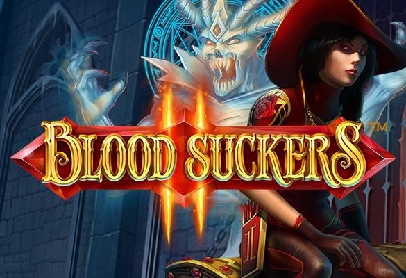 Blood Suckers 2 netent logo..