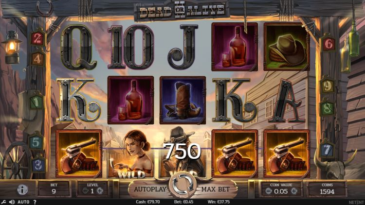 Dead or Alive II netent slot review mega win 2