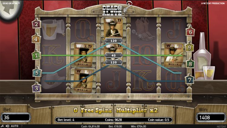 Dead or alive slot review win