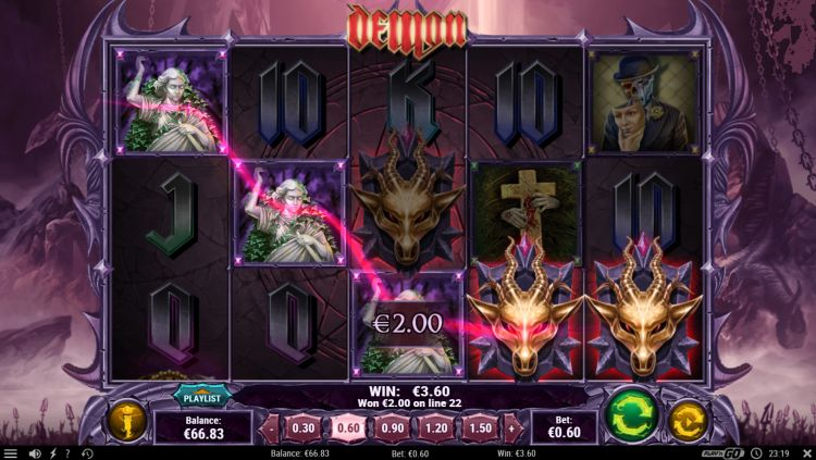 Demon review Play n GO win