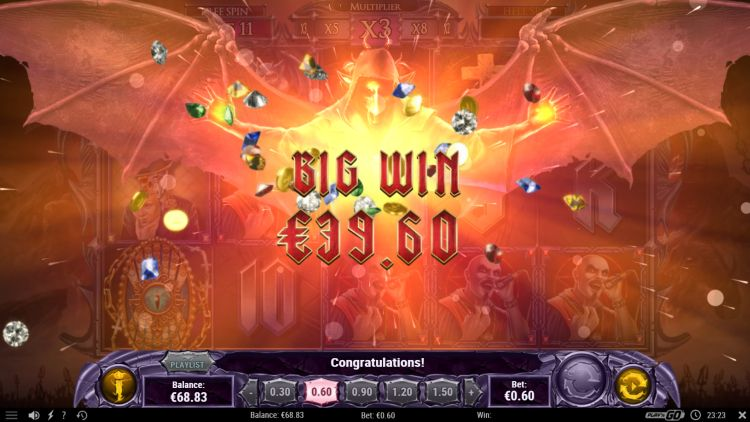 Demon slot review Play n GO big win