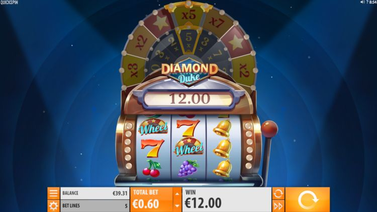 Diamond Duke slot quickspin win
