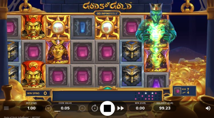 Gods of gold slot netent slot review
