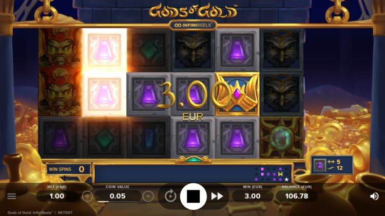 Gods of gold slot netent