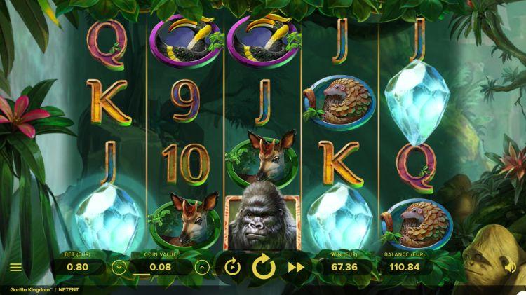 Gorilla-Kingdom-slot netent bonus trigger