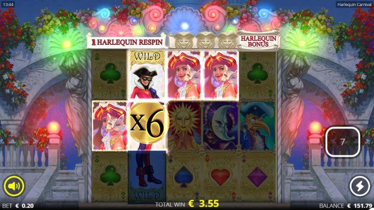 Harlequin-Carnival-slot review win