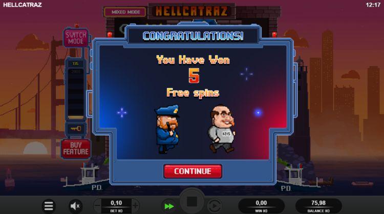 Hellcatraz relax gaming review bonus