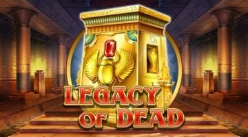 Legacy of dead slot review play n go logo