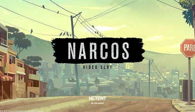 Narcos slot review logo
