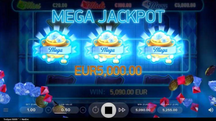 NetEnt-Trollpot-5000-Slot review jackpot