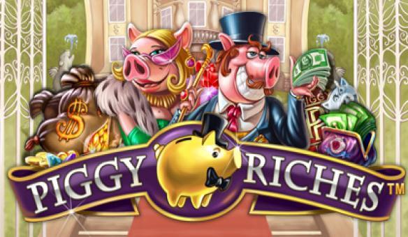Piggy Riches slot review netent logo