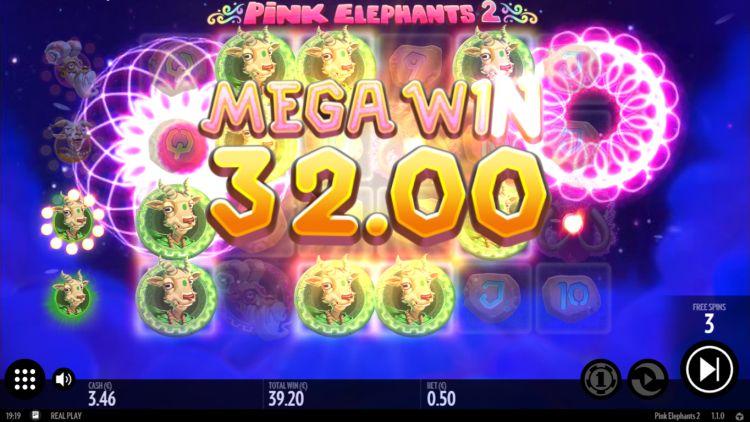 Pink Elephants 2 slot review big win