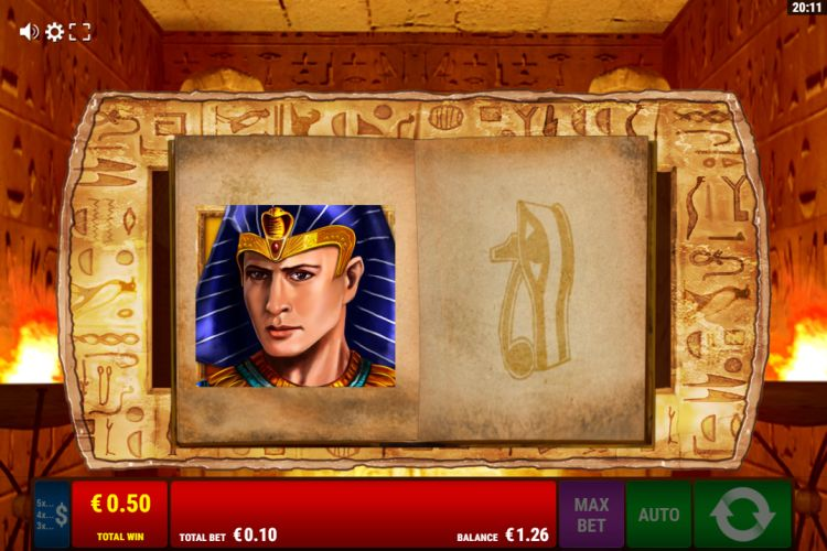 Ramses Book slot review gamomat