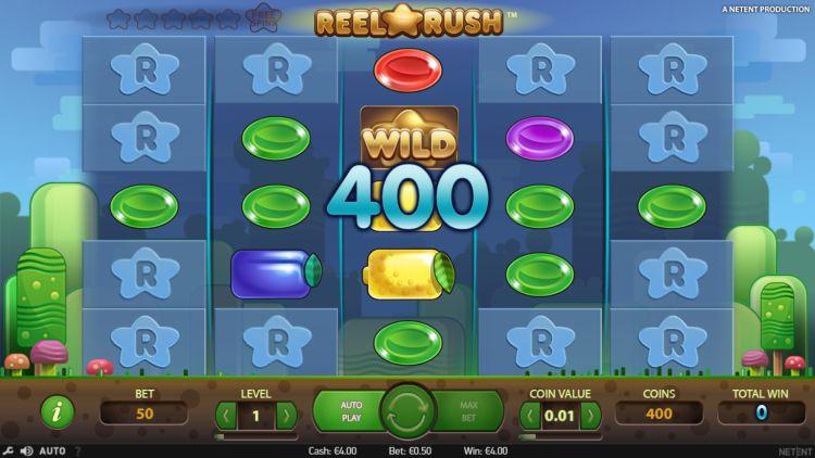 Reel Rush Netent review