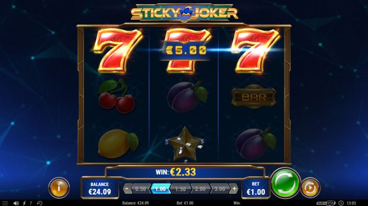 Sticky Joker play'n GO slot