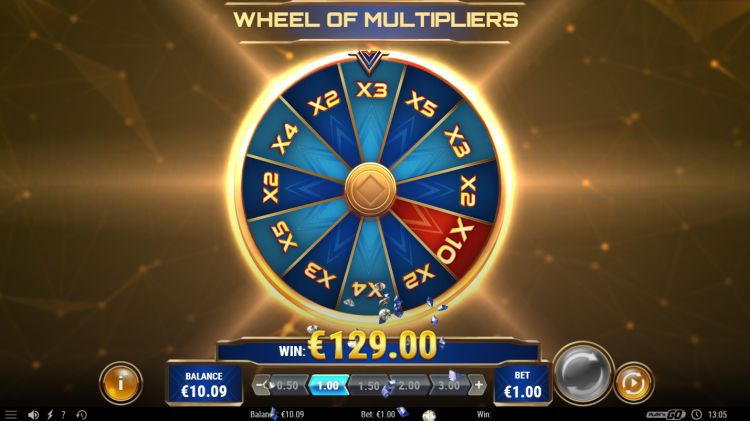 Sticky Joker play'n GO wheel of multipliers