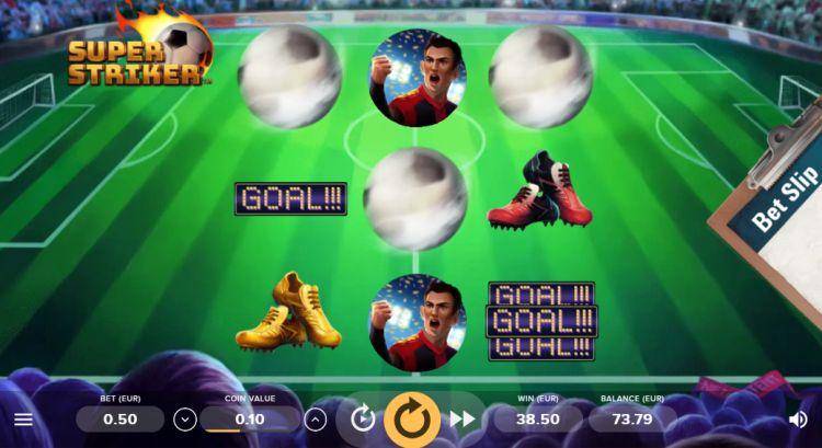 Super Striker Netent bonus trigger