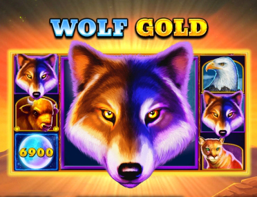 Wolf Gold slot pragmatic play logo