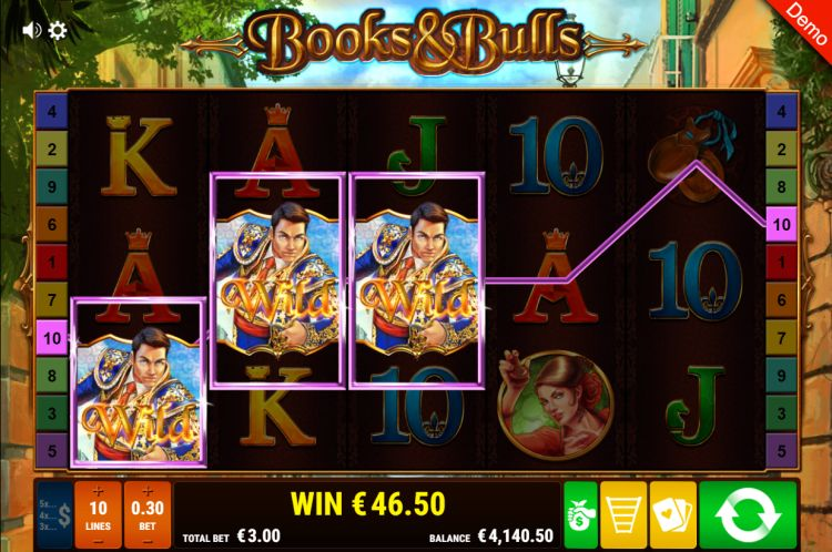 books-and-bulls-gamomat slot gewinn