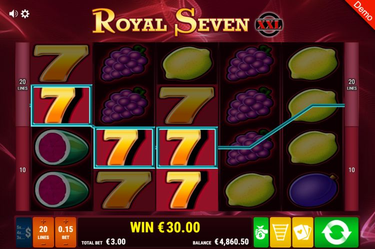 gamomat-royal-seven-xxl-slot big win