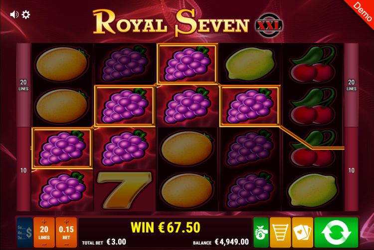 gamomat-royal-seven-xxl-slot win