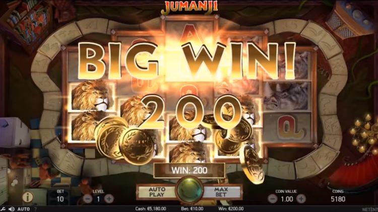 jumanji-netent slot review big win