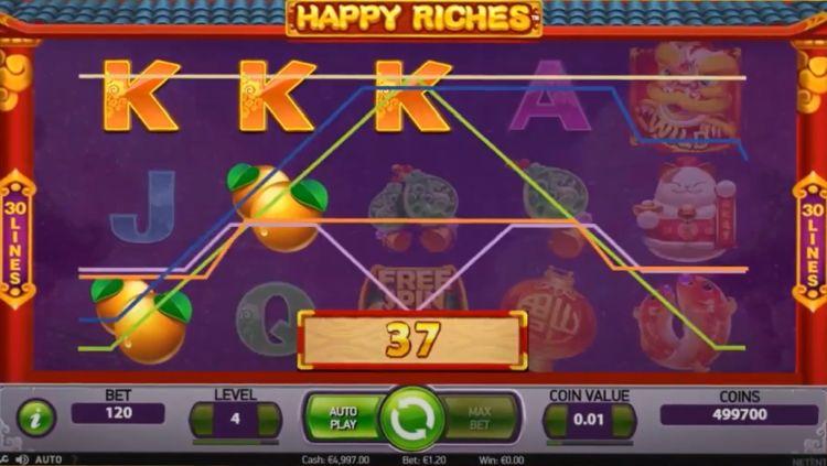 netent_happy-riches-slot review