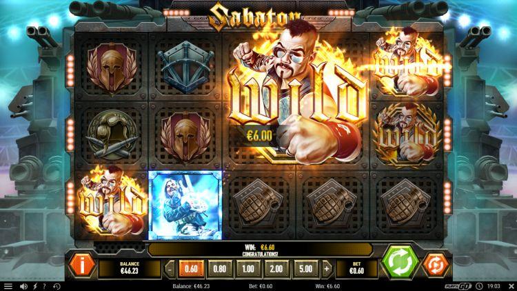 sabaton-slot review big win