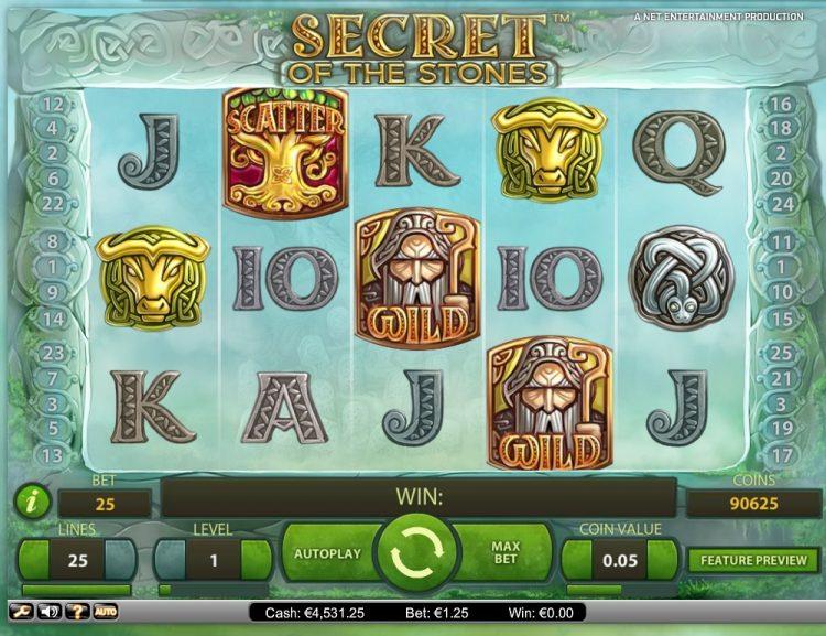 secret-of-the-stones slot