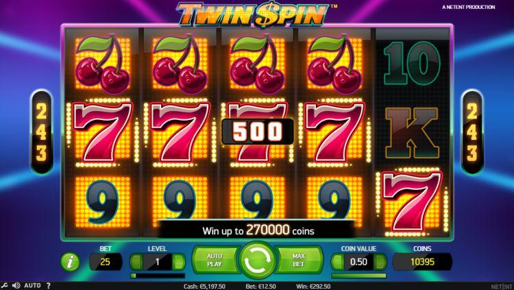 twin spin netent slot