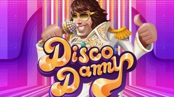 Disco Danny slot review netent logo